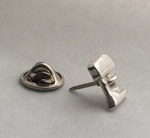 Baker's Standing Mixer Pin in Sterling Silver