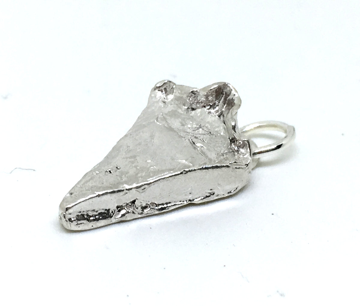 Slice of Pie Charm in Sterling Silver