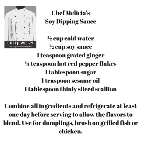 Chef Melicia's Soy Dipping Sauce