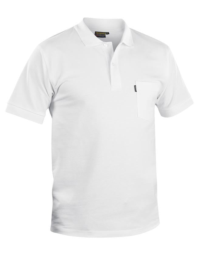 Blaklader 3305 Polo Shirt White M