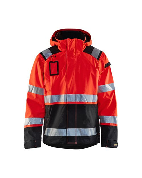 Blaklader 4987 Hi Vis Shell Jacket Red XL