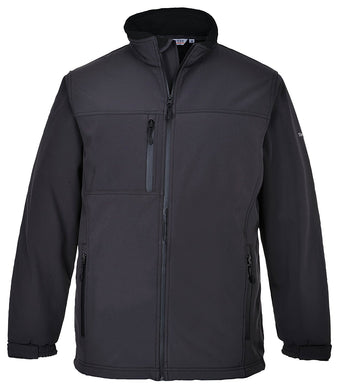 Portwest TK50 Softshell Jacket Black XL