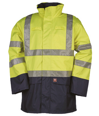Sioen Marex 9464 Hi Vis Rain Jacket Yellow 3XL