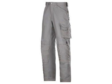 Snickers 3314 Craftsmen Trousers Grey W30 L35