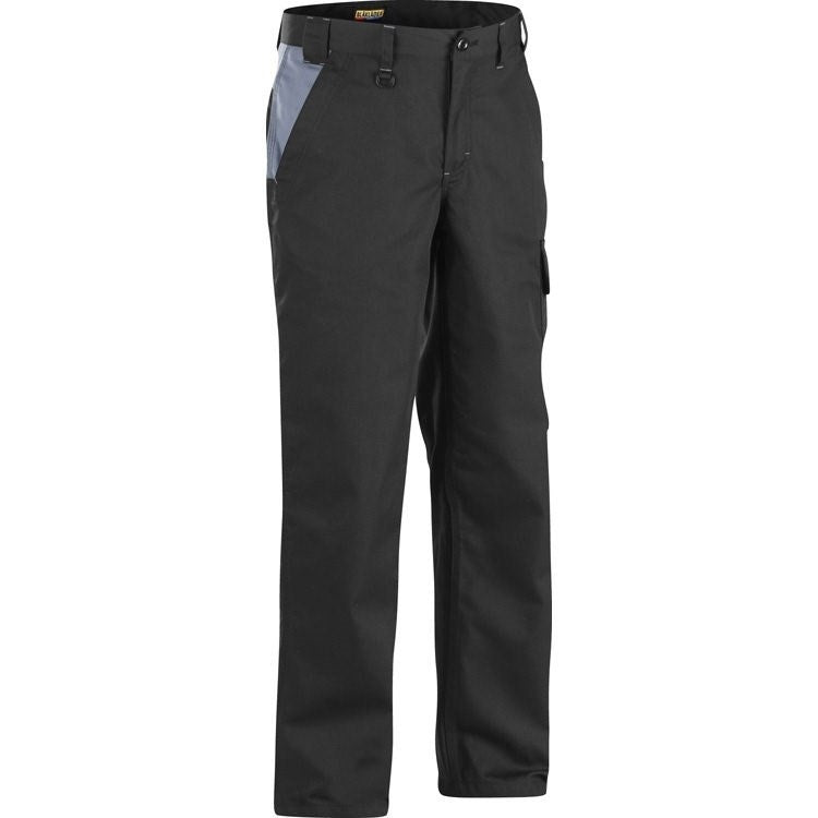 Blaklader 1404 Industry Work Trousers Grey 34L