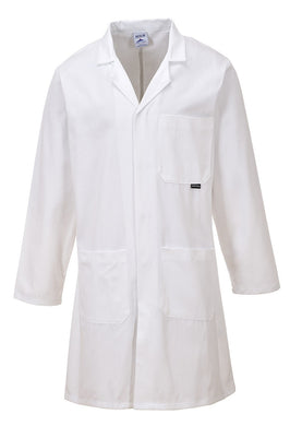 Portwest C851 Standard Lab Coat White
