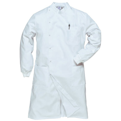 Portwest Howie C865 Lab Coat White XL