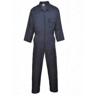 Portwest C803 Nylon Zip Coverall Navy