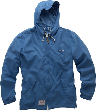 Scruffs Vintage Zip Through Mac Blue