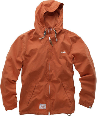 Scruffs Vintage Zip Through Mac Orange