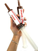 2x MASSIVE Personalised Nutella Syringe - The Sugar Box Co.
