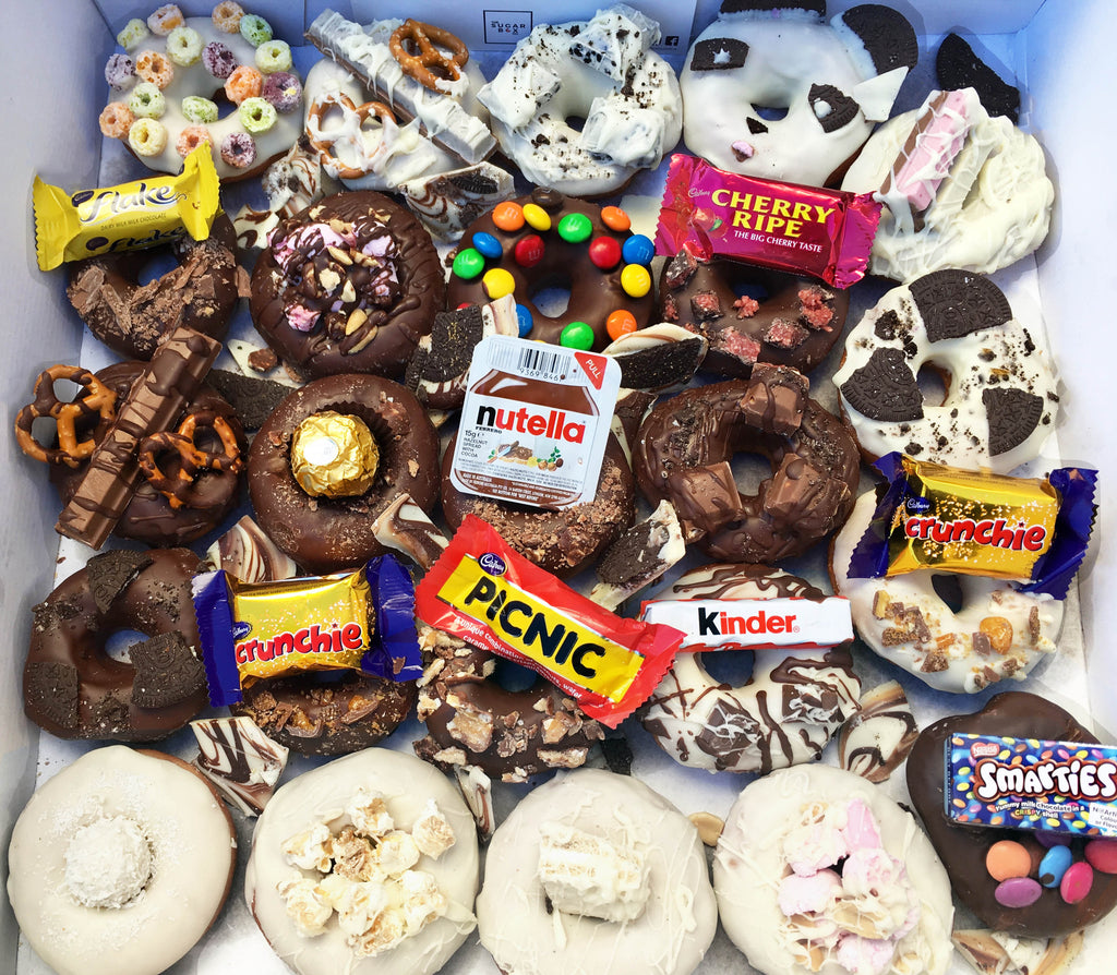 Donut box Delivering Donut Bouquets and Nutella Donut Bouquets  Nutella syringe