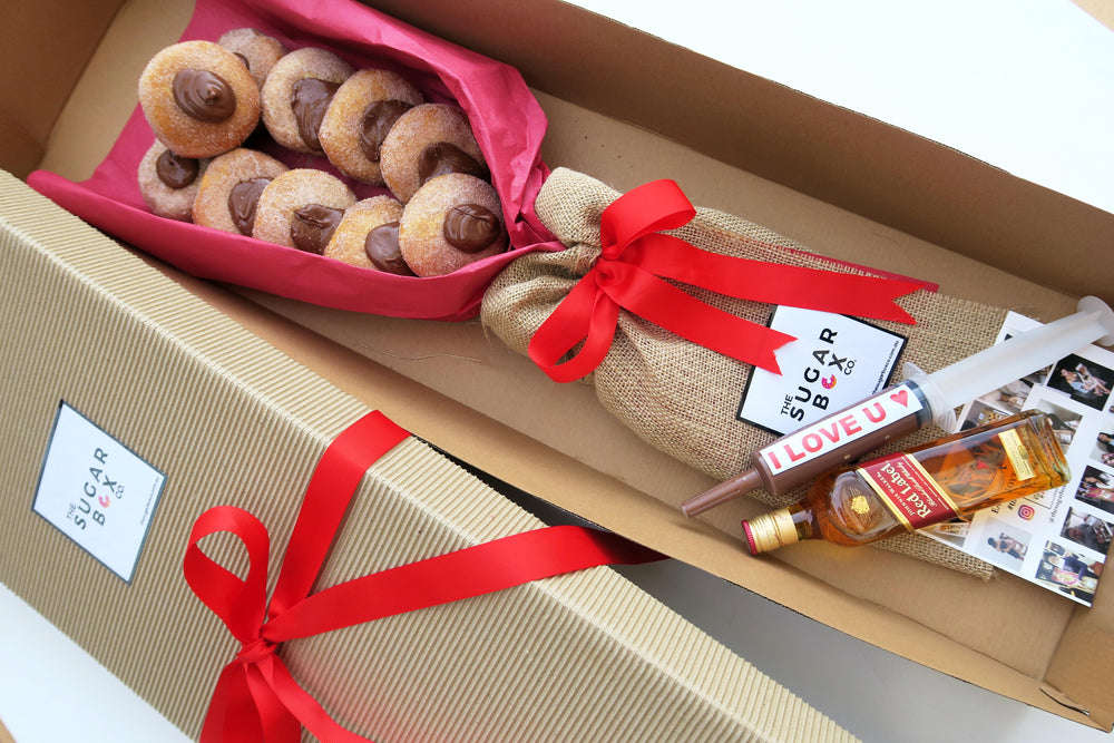 Dessert Box Donut Bouquet