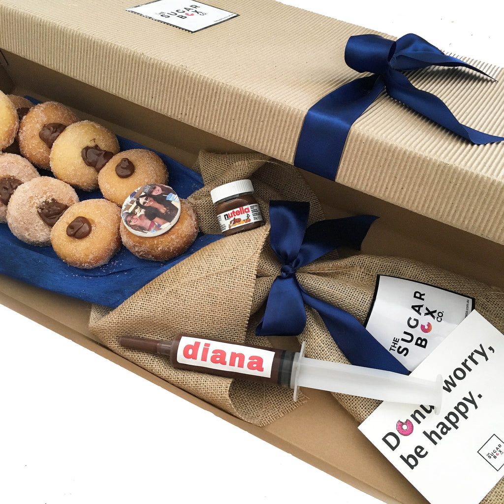 Donut Bouquets and Nutella Donut Bouquets Dessert Box