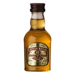 Chivas Regal 12 Year Old Scotch Whisky 50mL - The Sugar Box Co.