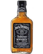 Jack Daniels Tennessee Whiskey Flask 200mL - The Sugar Box Co.