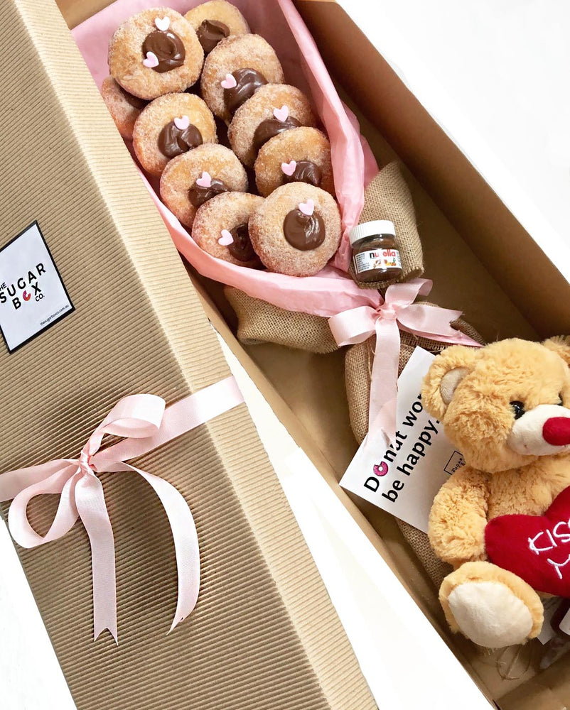 The Cause I Love You Beary Much Tella Donut Bouquet