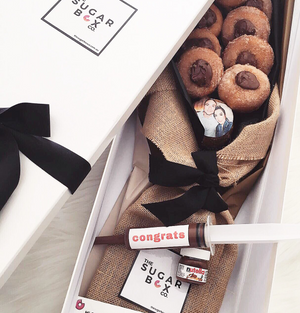 Delivering Donut Bouquets and Nutella Donut Bouquets Dessert Box