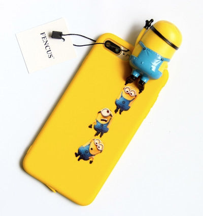 Coque minions 3D iphone 7