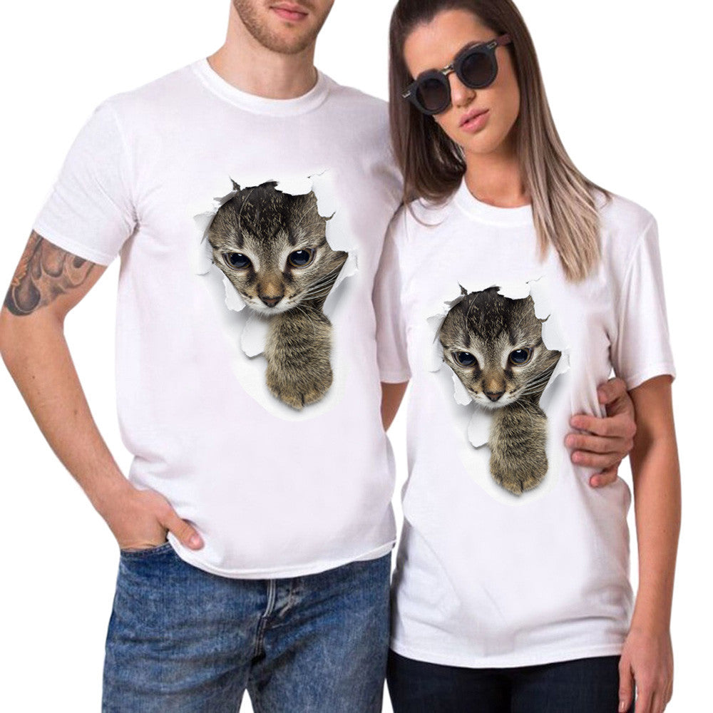 Kitty In The Hole T-Shirt