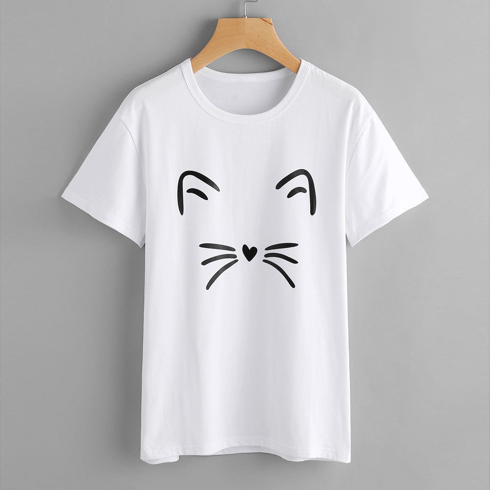 Adorable Cat T-Shirt