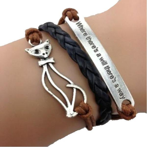 Cute Kitty Cat Bracelet