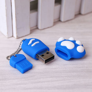 32GB USB 2.0 Cat Paw Flash Drive Memory Stick Storage Pendrive Thumb U Disk