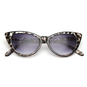 ROYAL GIRL Super Popular Sexy Mod Chic Cat Eye Sunglasses Women Inspired Retro Sun Glasses Shades ss048