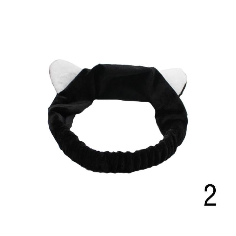 1Pcs Cute Cat Ear Hair Band Elastic Face Cat Ears Hoop Hair Band