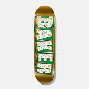 BAKER and SHAKE JUNT collab GOLD skateboard deck BAKE JUNT