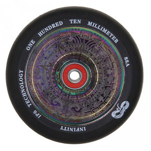 Infinity Mayan Rainbow Scooter Wheel 110mm or 120mm with bearings