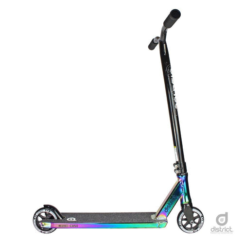 District 2018 C050 Complete Scooter - Neo Chrome and Black