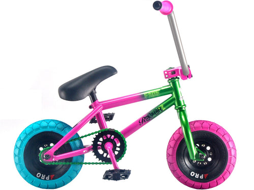 Mini Rocker BMX - FADE pink and green