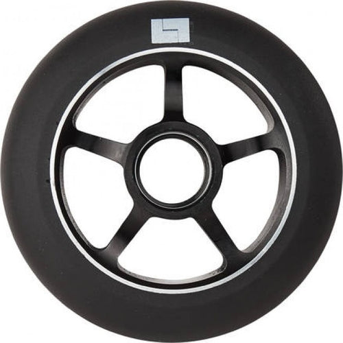 Logic 100mm Classic Core 5 Spoke Scooter Wheel - Black - with bearings