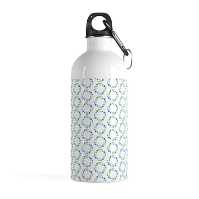 NDC Pattern Stainless Steel Water Bottle