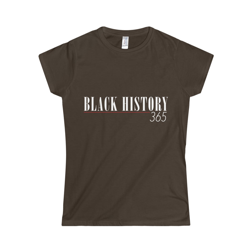 Black History Women's Fitted T-Shirt