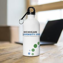 Michigan Diversity Council Stainless Steel Water Bottle