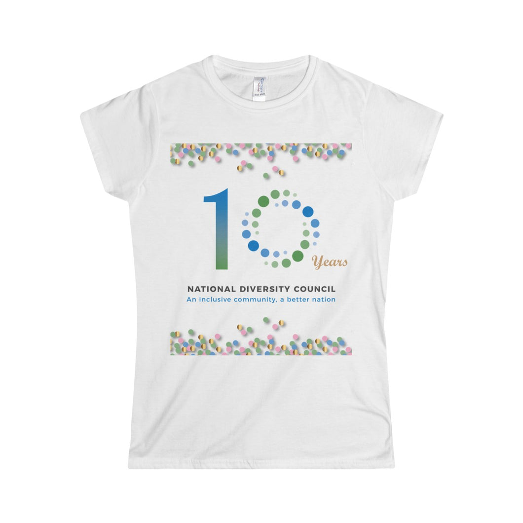 10 Years NDC Women's T-Shirt