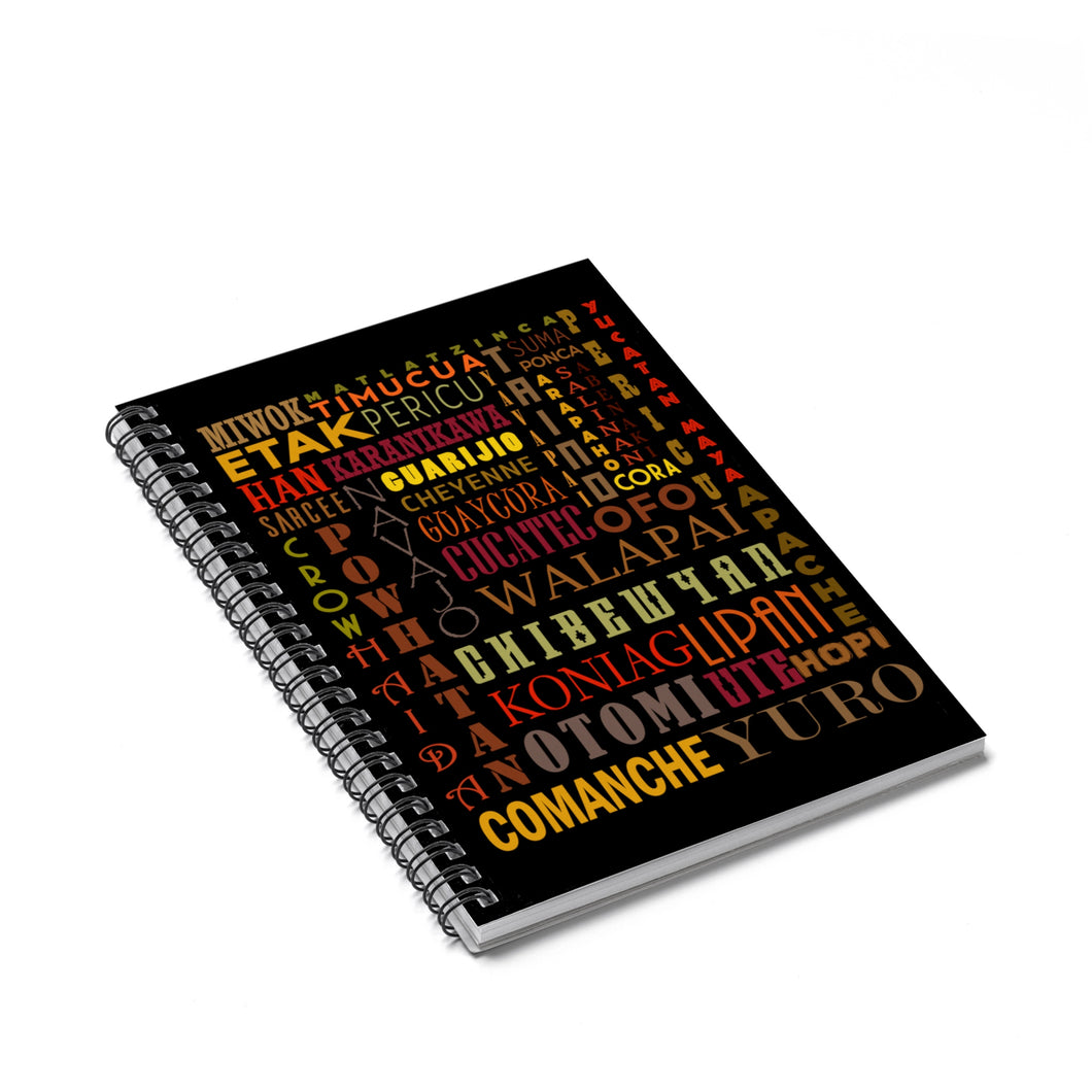 Indigenous Heritage Month Notebook