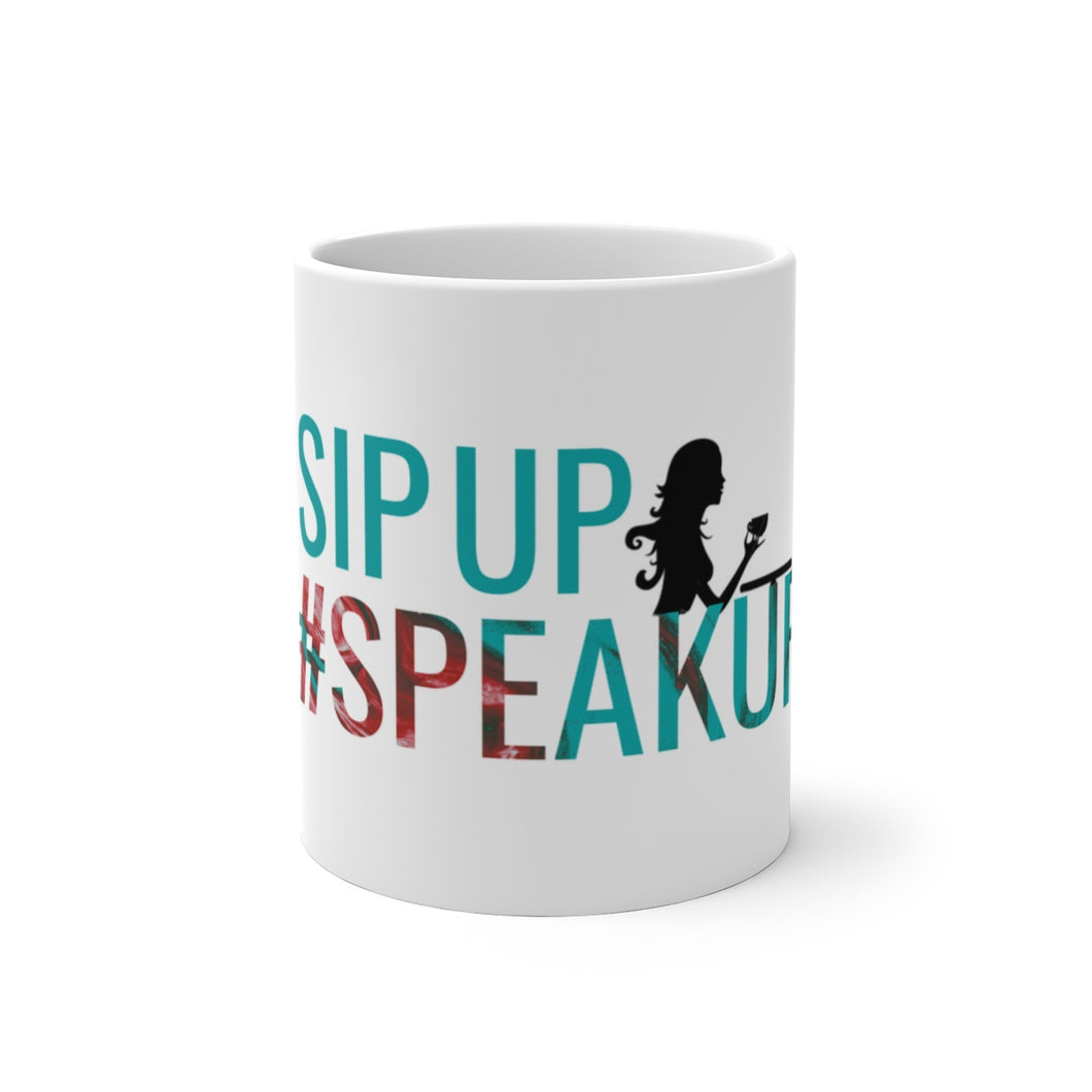 #SpeakUP Color Changing Mug