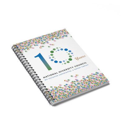 NDC 10 Years Spiral Notebook