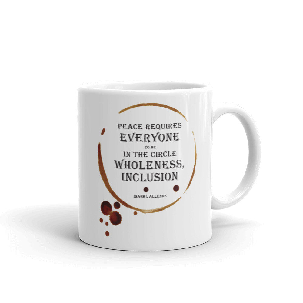 Isabel Allende Quote Mug