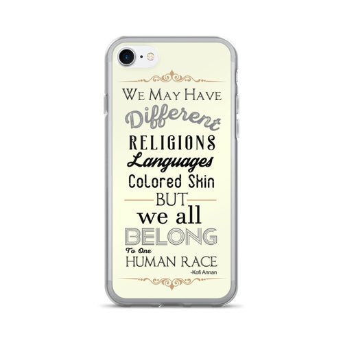 Diversity Quote iPhone 7/7 Plus Case