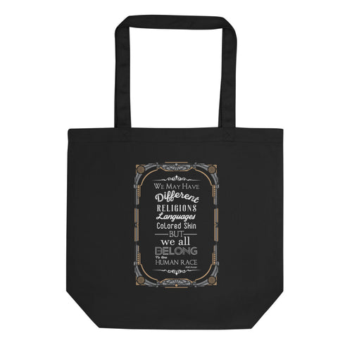 Diversity Quote Tote Bag