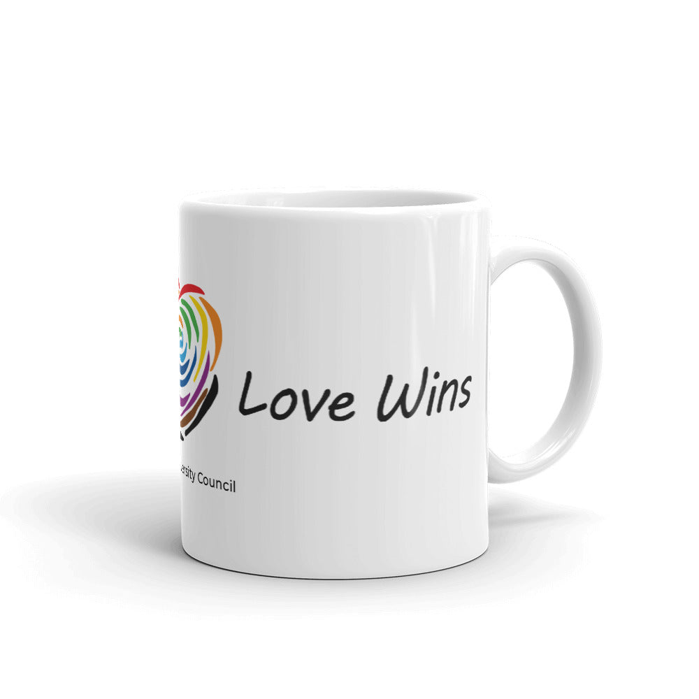 Loves Wins Coffee Mug