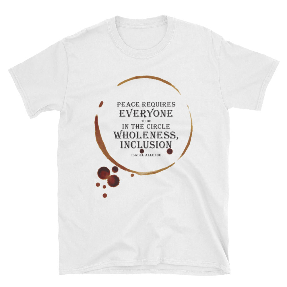 Isabel Allende Quote Unisex T-Shirt