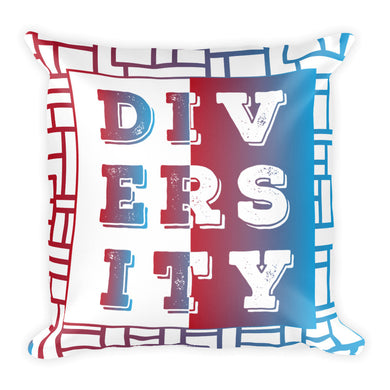 Diversity Square Pillow