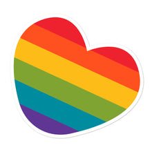Rainbow Heart Sticker