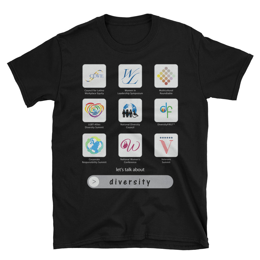 Apps of Diversity Unisex T-Shirt