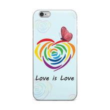 """Love is Love"" iPhone 5/5s/Se, 6/6s, 6/6s Plus Case"